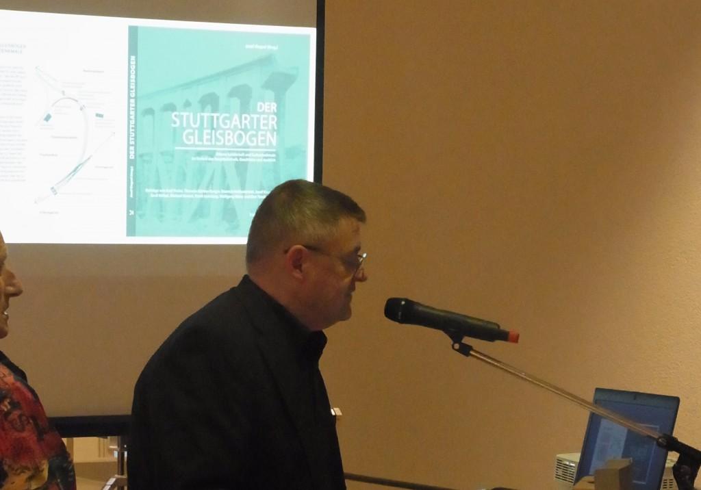 Vernissage und Buchpräsentation im September 2014 im Rathaus mit Baubürgermeister Matthias Hahn