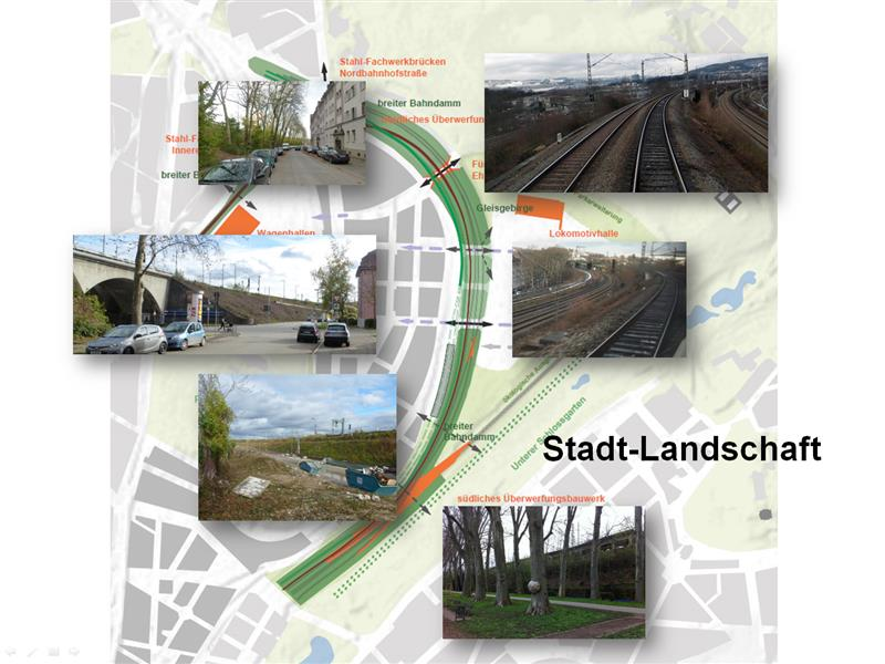 Der Gleisbogen - eine Stadtlandschaft