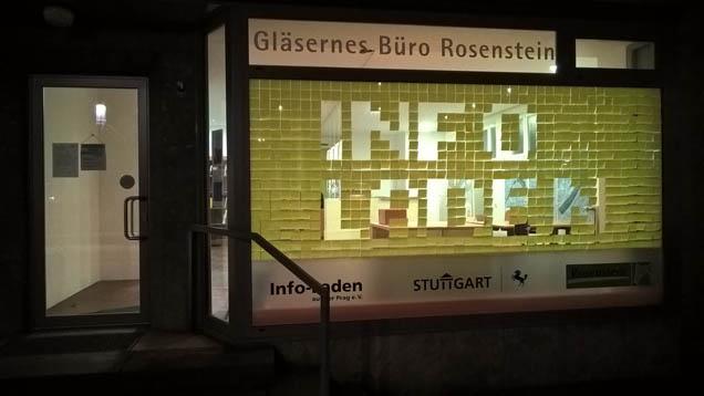 Das gläserne Büro in der Nordbahnhofstr. 81