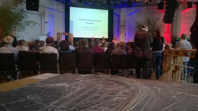 Informelle Bürgerbeteiligung Rosenstein - der Stuttgarter Gleisbogen ist dabei!