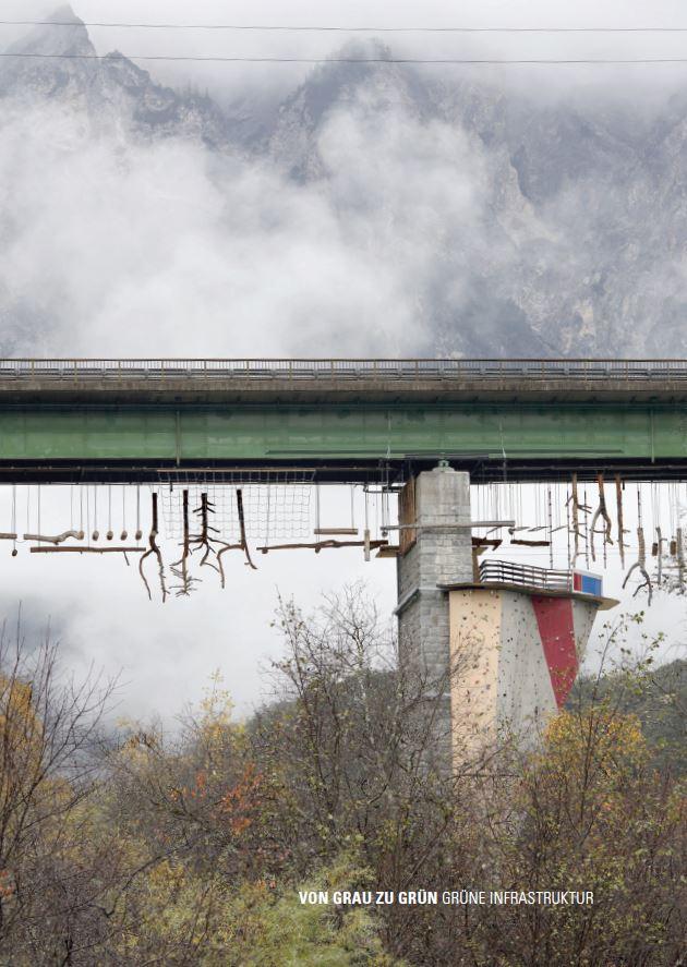 Buchtitel - Von Grau zu Grün. Grüne Infrastruktur